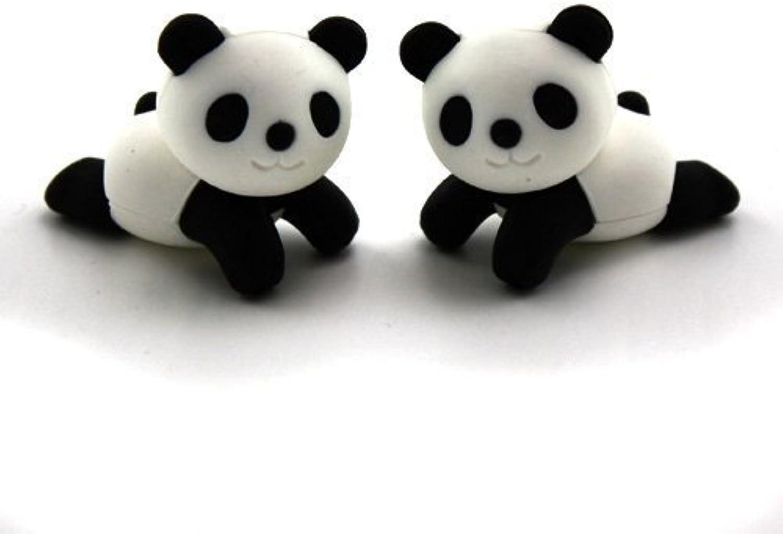 Iwako Japanese Erasers - A Pair of relax Panda (2 pieces) by Iwako