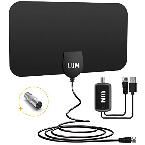 Learn More About TV Antenna Digital HD Indoor by UJM, [2020 Newest ] HDTV Antenna up to 120 Miles Ra...