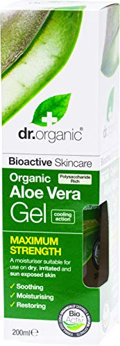 Pure bioactive organic Aloe Vera Soothe, moisturise and restore dry and sun exposed skin It will leave your skin feeling healthy