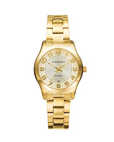 VICEROY - Reloj Acero IP Dorado Brazalete Sra Va - 401086-25