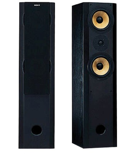 Sony SS-X7 Stand-Lautsprecher schwarz
