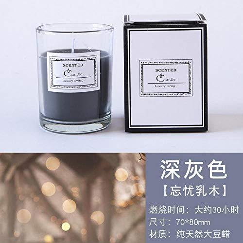 TAYIBO Bougie Cadeau pour la Fête,Bougies d'aromathérapie, Sommeil apaisant, Chambre intérieure, Fleurs d'olive Douces et durables