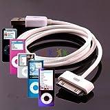 TECHGEAR Hohe Qualität OEM USB Ladekabel/Datenkabel für Alle Generationen von iPod Nano (außer iPod Nano 2012 / 7th Gen)