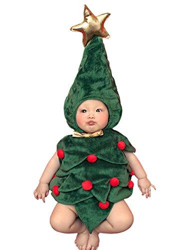 THEE Disfraz de Fotografía de Navidad BebéRecién Nacido Costume Set