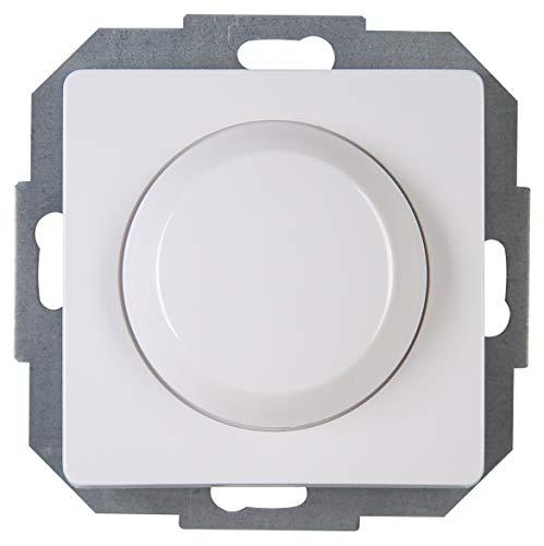 Kopp 843402085 Druck-Wechsel-Dimmer, arktis-weiß, LED