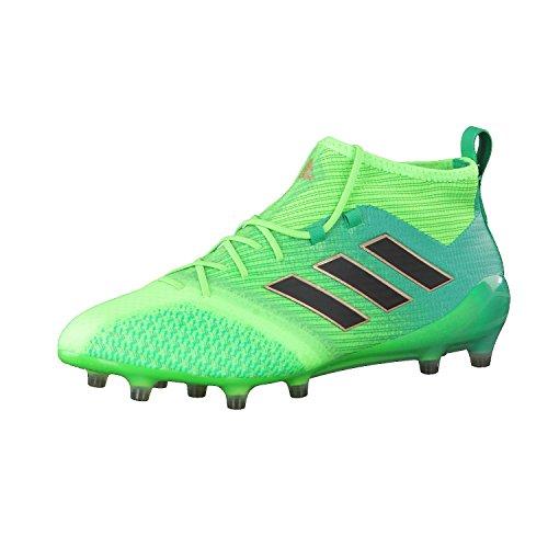 adidas Ace 17.1 Primeknit Fg, Scarpe per Allenamento Calcio Uomo, Verde (Versol/Negbas/Verbas), 42 EU