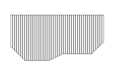 お風呂のふた トクラス 旧ヤマハ 62R 【 品番 】GFFMADW1AX 巻きフタ ヤマハシステムバス用 風呂ふた 巻きふた 【 寸法 】 W1536mm×D748mm