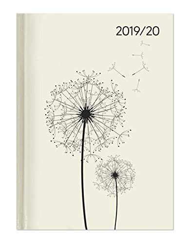 Campustimer Blowballs - A5 Semesterplaner - Studentenkalender 2019/2020 - Terminplaner - Notizbuch - Pusteblume