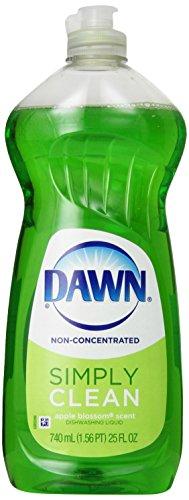 Dawn Dish Soap, Non-Ultra Dishwashing Liquid, Apple Blossom Scent, 25 Fl Oz (Pack of 5)