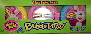 Hubba Bubba Easter Bunny Bubble Gum Tape 3 pack 18 foot long! Hubbabubba