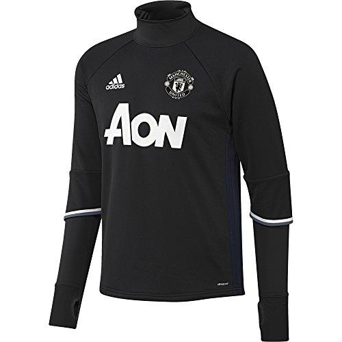 adidas Herren Manchester United Training Top Trainingstop, Black/Collegiate Navy/Chalk White, XS