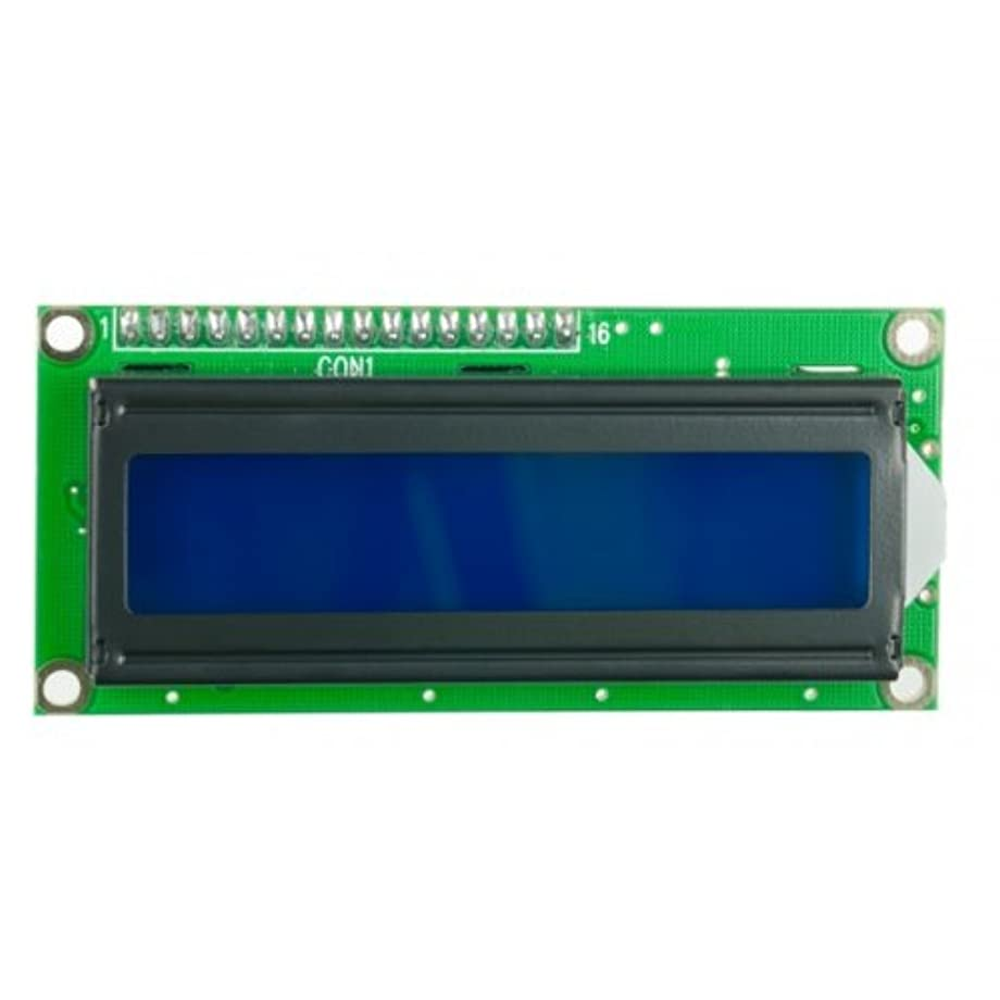 DFRobot DFR0063 LCD Display, 16x2 Character, White on Blue, 5V, 82 mm x 35 mm x 18 mm Size