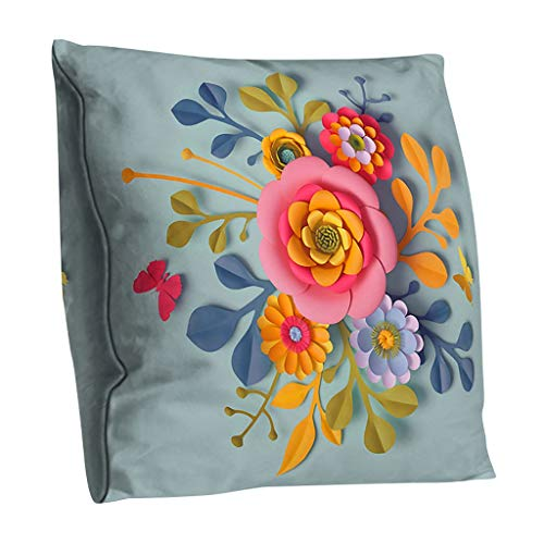 Arystk Print Pillow Case Polyester Sofa Car Cushion Cover Home Decoration