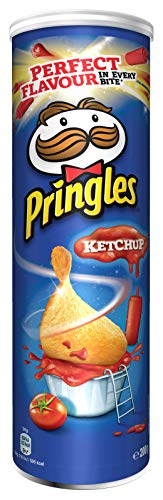 Pringles Ketchup Chips | Einzelpackung | 200g