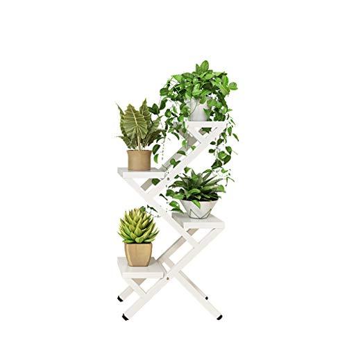 XIN Jardin Stand De Fleurs Art De Fer Multicouche Intérieur Salon Balcon Cadre Décoratif Gain De Place
