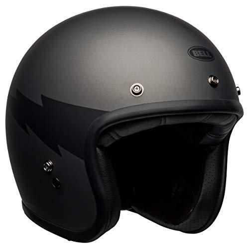 Bell Custom 500 Helmet (Thunderclap Matte Gray/Black - Large)