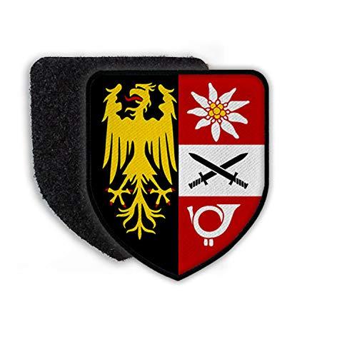 Copytec Patch Klett Flausch Jägerbataillon Oberösterreich JgBtl B&esheer OÖ #22401