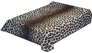 New Solaron King Size Leopard Skin Korean Mink Blanket