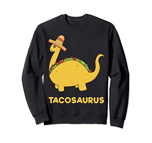 Cool & Funny Tacosaurus Taco Dinosaur Gift Tee Disfraz para Sudadera