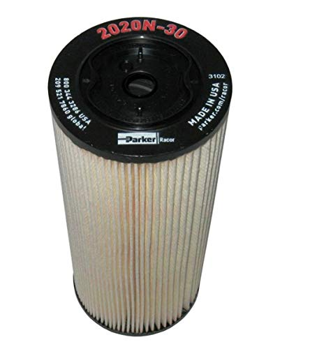 2020N-30 Racor Fuel Filter Element, 30 Microns (Pack of 12)