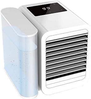 Luftkonditionering, 3 i 1 Mini USB personligt rymdluftkylare, luftfuktare, renare, skrivbords kylfläkt med justerbar flerv...