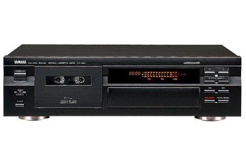 Yamaha KX 490 Kassettendeck schwarz