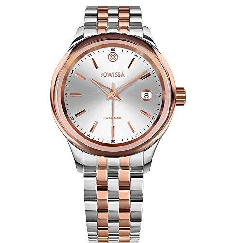 Jowissa Tiro Schweizer Uhr J4.229.M Silber/Rosa