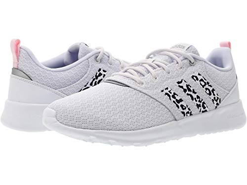 adidas QT Racer 2.0 White/Grey/Clear Pink 5 B (M)