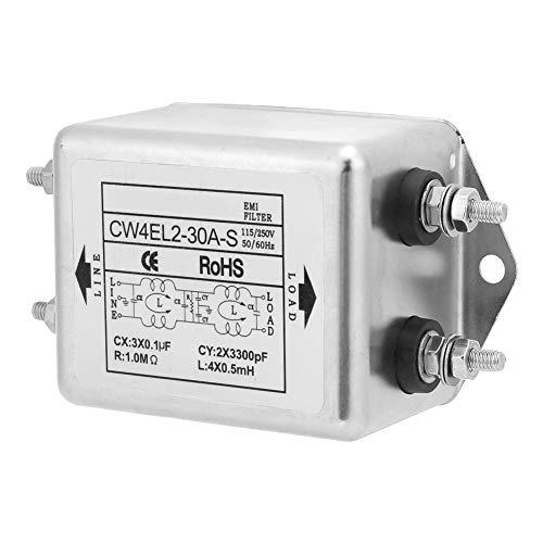 Power Emi Filter, conveniente filtro de fuente de alimentación práctico universal, firme para equipos médicos, aplicaciones médicas especiales