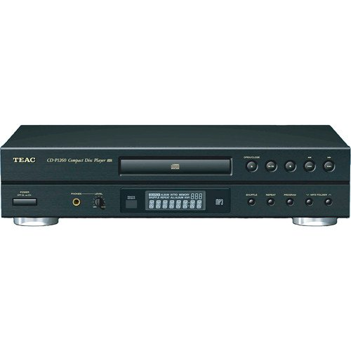 Teac Single-Disc CD Player with MP3 Playback and Remote