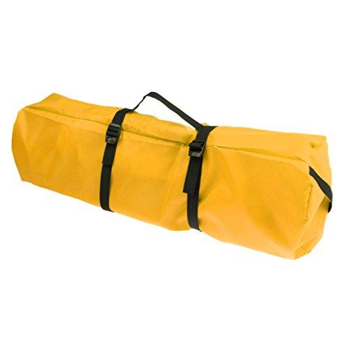 Kompressions- Sack Für Schlafsack Zeltplane - Roll-up Tasche Camping Wandern Tragetasche - Gelb