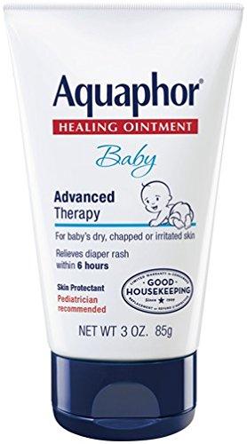 Eucerin Aquaphor Baby Healing Ointment  3 Oz Tube