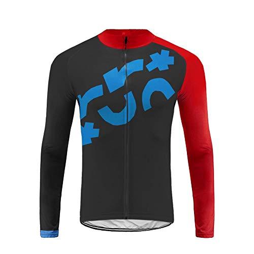 Future Sports UGLYFROG Vellón Térmico Maillots de Ciclismo Bicicleta Jerseys Manga Larga Tops Tops Invierno Hombre Escudo Outdoor Wear