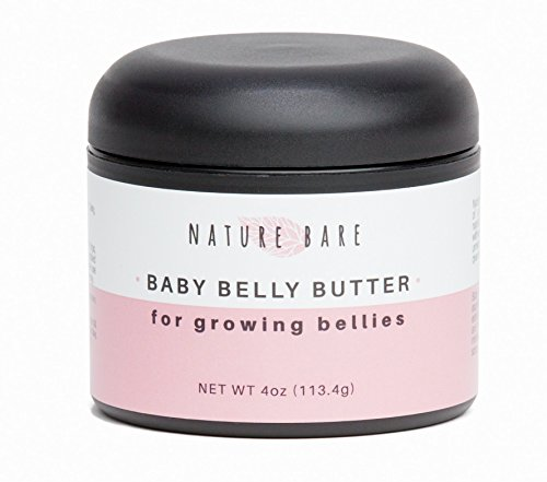 BEST Belly Cream! Stretch Mark Cream for Pregnancy - Vegan, All Natural, Fragrance Free Ingredients - Helps Prevent and Heal Stretch Marks and Scars, 4oz