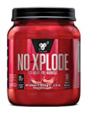 BSN Nutrition N.O.-Xplode Pre Workout Powder with Creatine Monohydrate, Beta Alanine, Caffeine, Vitamin D and Vitamin B Complex, Fruit Punch, 50 Servings, 1 kg