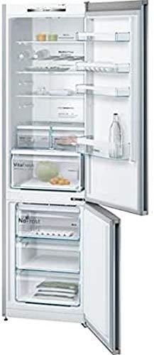 Bosch Serie 4 KGN39VL35 Libera installazione 366L A++ Acciaio inossidabile frigorifero con congelatore
