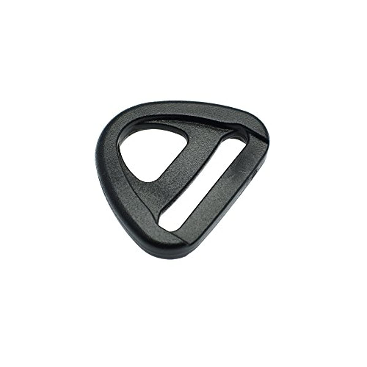 20pcs Plastic Adjuster with bar Swivel Clip D-Ring Loop Insert Buckle Backpack Straps (Webbing Size 1