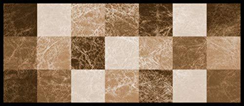 William Armes Kitchen Runner Schmutzfangmatte aus Terrakotta, Velour Polyamid, Terracotta, 120 x 50