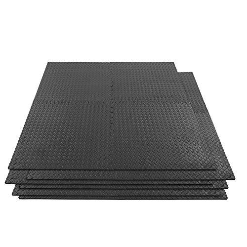 Fitness Foam Mat 24pcs / Set Interrocking Puzzle Foam Mat Gym Floor Mat Fitness Entrenamiento Ejercicio Azulejos