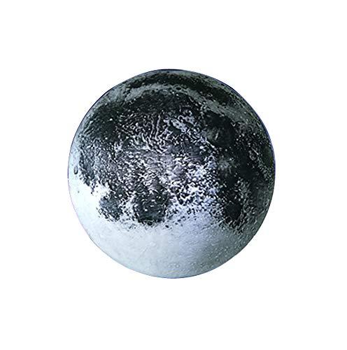 Moon In My Room,Applique murale à lumière de lune de simulation,Applique murale à télécommande pour chambre à coucher,Effet de lumière décorative pour lune à effet 3D,Cadeau romantique pour amis