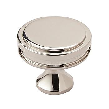 polished nickel cabinet knobs