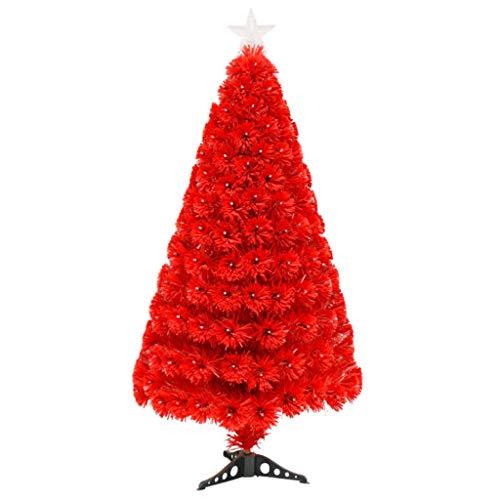 Kiter Árbol de Navidad Artificial de Pino Tradicional árbol de Navidad con el Soporte Falso árbol de Navidad...
