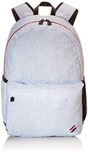 Superdry Mens Sportstyle Montana Rucksack, Grey Marl, One Size