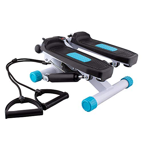 CalmaDragon Escaladora para Piernas, Stepper para hacer ejercicio de gluteos y cardio, Máquina Elíptica, Escaleras de Ejercicio Step