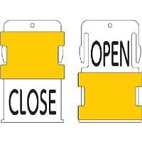 IM(アイマーク) スライド表示タグ OPENCLOSE (OPEN - 黒文字 / CLOS AIST22