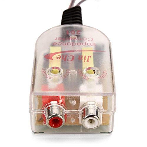 GOZAR Auto-Audio-Verstärker Hochfrequenz-Niederfrequenz-Ausgangsübertragung