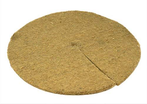 Tapis de toile de jute contre les mauvais herbes lot de 25 x 20cm