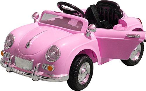 完成車発送!電動乗用ラジコン ドイツオールドタイプ 乗り物玩具 電動乗用玩具 子供向け [802] (ピンク)