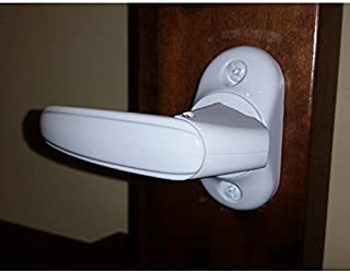 Inside Handle Storm Door Latch White-FREE SHIPPING