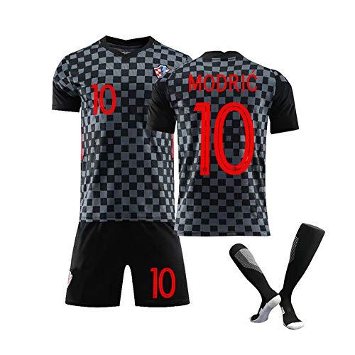 Männerfussball Trikot-Kroatien Nationalmannschaft Fußballtrikot für -Modric10# Mandzukic 17# 2021 Neuer Fan Trikot, Fußball Sportbekleidung Erwachsener/Kind Kits Für-Fußballfans Trikot-Redbl
